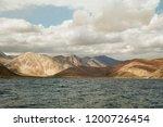 pangong lake in ladakh  north... | Shutterstock . vector #1200726454