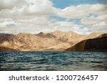 pangong lake in ladakh  north... | Shutterstock . vector #1200726457