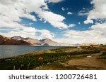 pangong lake in ladakh  north... | Shutterstock . vector #1200726481