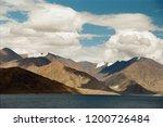 pangong lake in ladakh  north... | Shutterstock . vector #1200726484