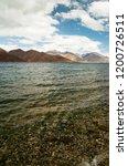 pangong lake in ladakh  north... | Shutterstock . vector #1200726511
