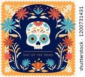 d a de muertos  day of the dead ... | Shutterstock .eps vector #1200731431