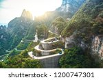 The Winding Mountain Road On...