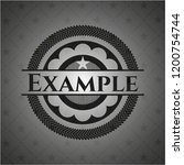 example dark icon or emblem   Shutterstock .eps vector #1200754744
