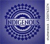 indigenous badge with jean...   Shutterstock .eps vector #1200762274