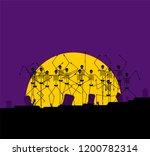 Halloween Background Horror....