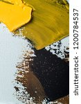 abstract strokes of oil paint... | Shutterstock . vector #1200784537
