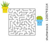 abstract square maze. an...   Shutterstock .eps vector #1200793114