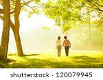 asian senior mother and adult... | Shutterstock . vector #120079945