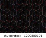 abstract background with... | Shutterstock . vector #1200800101