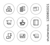 tissue icon set. collection of... | Shutterstock .eps vector #1200802021