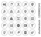earth icon set. collection of...   Shutterstock .eps vector #1200802141