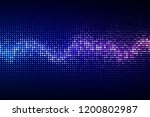 abstract cyber space... | Shutterstock . vector #1200802987