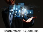 modern wireless technology and... | Shutterstock . vector #120081601