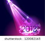 creative 2013 happy new year... | Shutterstock .eps vector #120082165