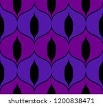 seamless retro pattern in the... | Shutterstock .eps vector #1200838471
