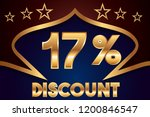 17  off discount promotion sale ... | Shutterstock .eps vector #1200846547