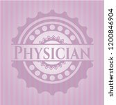 physician retro style pink... | Shutterstock .eps vector #1200846904