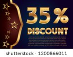 35  off discount promotion sale ...   Shutterstock .eps vector #1200866011