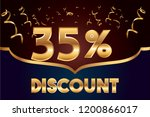 35  off discount promotion sale ...   Shutterstock .eps vector #1200866017