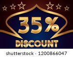 35  off discount promotion sale ...   Shutterstock .eps vector #1200866047