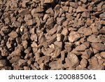 big pieces manganese ore  | Shutterstock . vector #1200885061