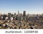 san francisco from above | Shutterstock . vector #12008938
