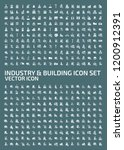 industrial and factory vector... | Shutterstock .eps vector #1200912391