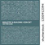 industrial and factory vector... | Shutterstock .eps vector #1200912394
