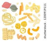 vector illustration italian... | Shutterstock .eps vector #1200919111