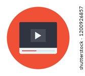 video marketing vector icon   Shutterstock .eps vector #1200926857