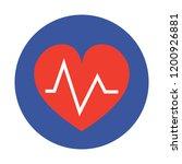 heart beat vector icon   Shutterstock .eps vector #1200926881