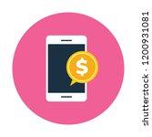 mobile marketing vector icon   Shutterstock .eps vector #1200931081