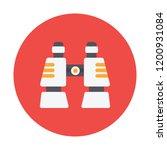 binocular vector icon   Shutterstock .eps vector #1200931084