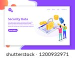 security  safety and... | Shutterstock .eps vector #1200932971
