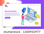 security  safety and... | Shutterstock .eps vector #1200932977