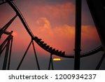 silhouette of people having fun ...   Shutterstock . vector #1200934237