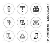 stripe icon set. collection of...   Shutterstock .eps vector #1200936064