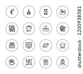 clinic icon set. collection of...   Shutterstock .eps vector #1200938581