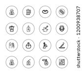 aroma icon set. collection of... | Shutterstock .eps vector #1200938707