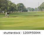 golf is a sport. players use...   Shutterstock . vector #1200950044