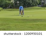 golf is a sport. players use...   Shutterstock . vector #1200950101