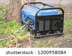 portable generator for repair... | Shutterstock . vector #1200958084