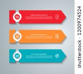 business infographic template... | Shutterstock .eps vector #1200974524