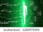 abstract background technology... | Shutterstock .eps vector #1200979294