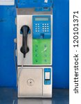Old Public Telephone Coin In...