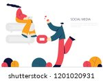 vector illustration  flat style ...   Shutterstock .eps vector #1201020931