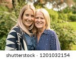 close up portrait of family... | Shutterstock . vector #1201032154