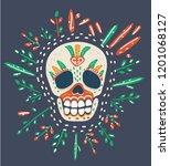 vector cartoon illustration of... | Shutterstock .eps vector #1201068127
