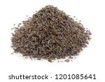 dried lavender herb bud flower... | Shutterstock . vector #1201085641